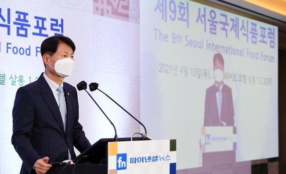 축사하는 김강립 식품의약품안전처 처장