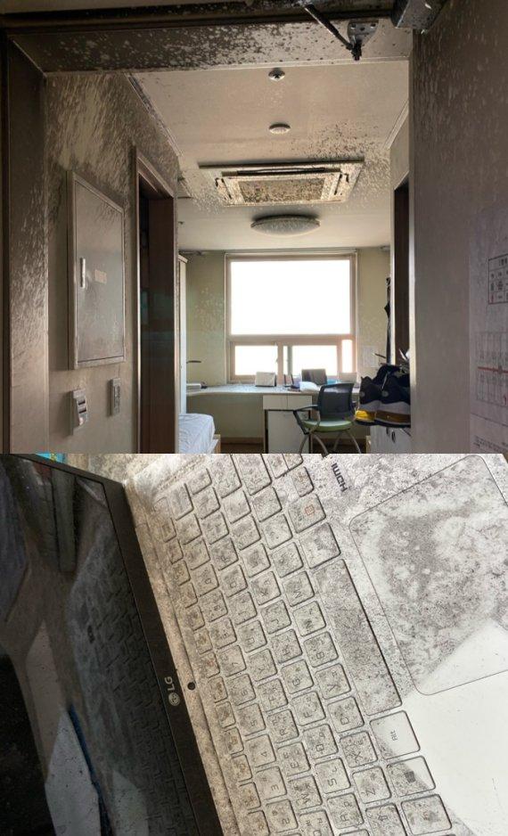 한국외대 기숙사서 큰 화제, 발 빠른 805호 학생의 순발력