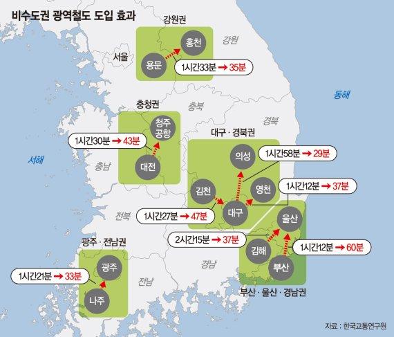 서해안에도 고속철 '홍성~서울 48분'… 전국 2시간대 생활권 [4차 국가철도망 구축계획]