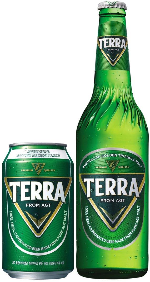 갈색에서 녹색으로...맥주병 대세 컬러 바뀌나