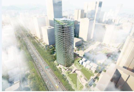 서초구 코오롱스포렉스 부지에 25층 복합시설 들어선다