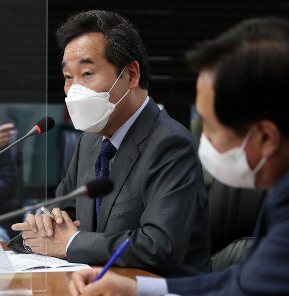 """이낙연 첫 메시지는 '경제와 민생'..""""백신개발위 운영하자"""""""