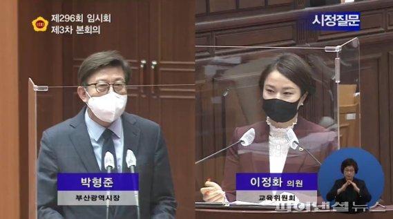 """이정화 시의원 """"부산시, 국민임대주택 비율 늘려야"""""""