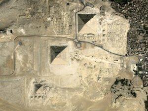 차세대중형위성 1호가 찍은 피라미드