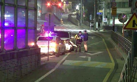 경찰이 놓친 교통사고 진범, 방범 CCTV 관제요원이 잡았다