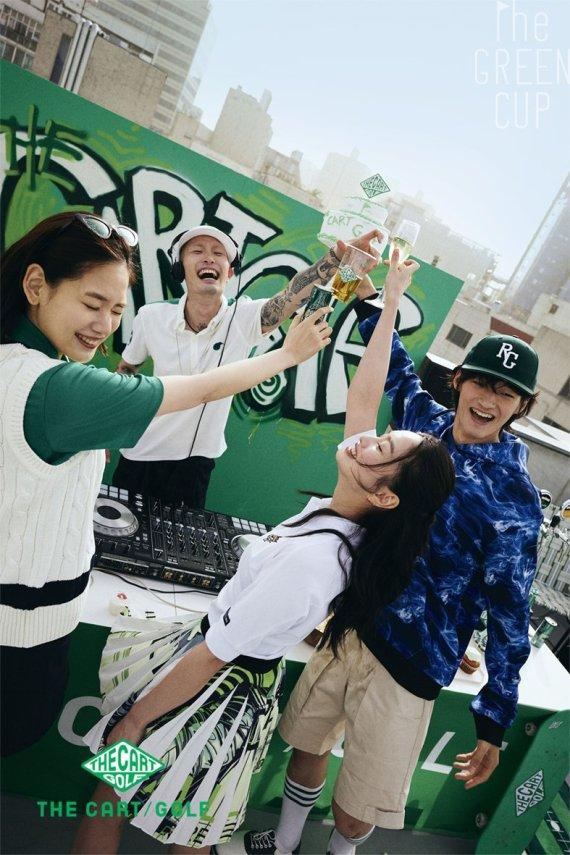 코오롱FnC, '더 카트 골프' 전용 앱 출시