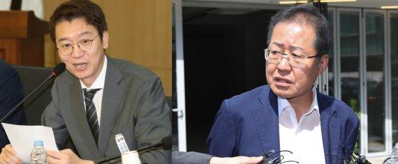 '홍준표 복당' 지도부 '끙끙'…윤석열 못 올 거란 말까지