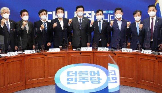 송영길 시도당과 하나 돼 정권재창출 길 매진