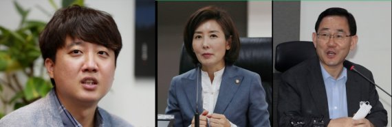 국민의힘 당대표 설문조사, 나경원 18.4%·이준석은 무려..