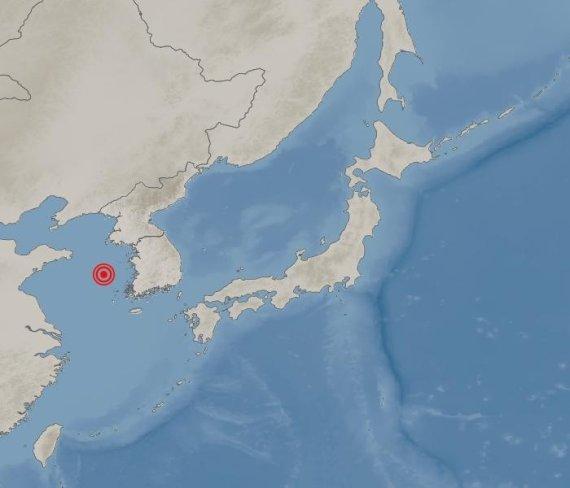 태안 남서쪽 먼바다 해상서 규모2.2 지진