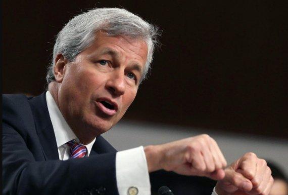 """미국 최대 은행 CEO """"비트코인=마리화나"""""""