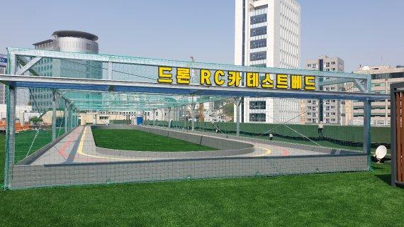 서울시, 용산전자상가 옥상 '드론‧자율주행 테스트베드' 조성