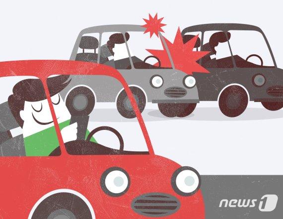 엄마 차키 훔친 9세 남아의 운전실력, 시속 40㎞로 달리다..