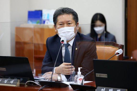 """정청래 """"윤석열, DJ 가르침 새긴다며 DJ 탄압한 후예 무리에 가나"""""""