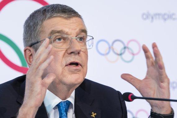 "IOC 바흐 ""도쿄올림픽, 개최 단계로 들어섰다"""
