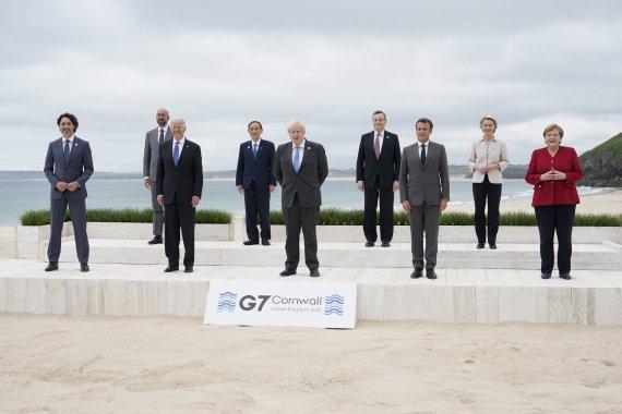 [종합] 막 내린 G7 회담, 中때리며 백신-환경 등 현안 협력
