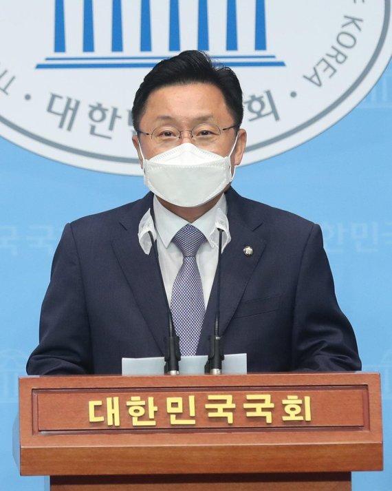 """'친노' 최인호 """"盧 괴롭혔던 이재명, 盧탄핵 네거티브 자격 없다"""""""