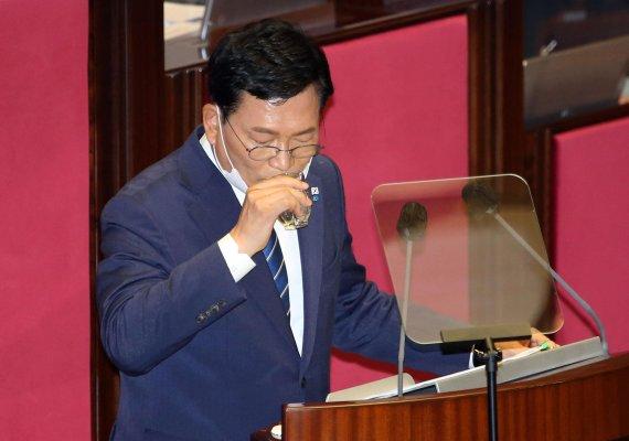 송영길 대표, 교섭단체 대표연설