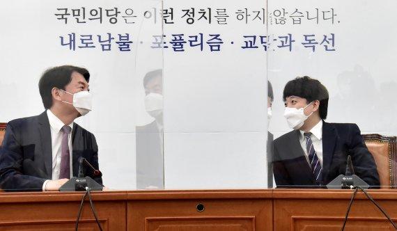 """이준석 """"안철수 가치 인정해도, 합당 시한은 다음주까지"""""""