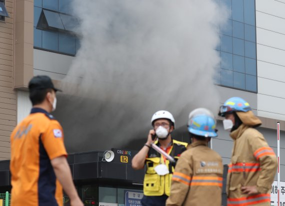 화재 쿠팡 물류센터 실종 구조대장은 배려 많던 27년 베테랑