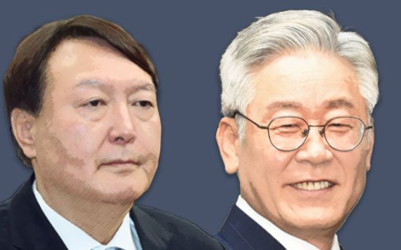 윤석열 38% 이재명 25%…尹, '호남'서도 턱밑 추격(종합)