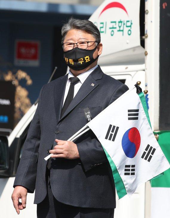 """조원진 """"윤석열, X파일보다 더 심각한 건 직권남용…朴구속하고 대통령 꿈?"""""""