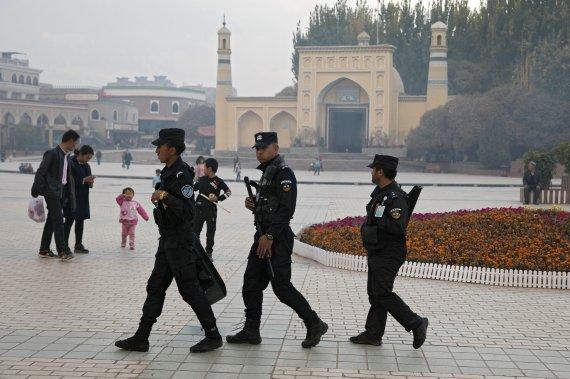 中정부, 유엔 신장·홍콩 발언은 중국 발전 견제 내정간섭