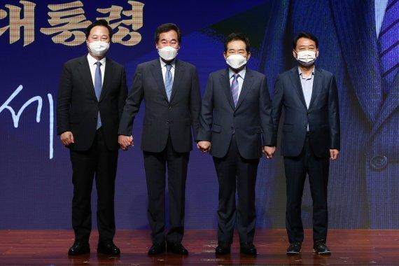 이낙연·정세균·이광재, 反이재명 연대로 경선 연기 공세