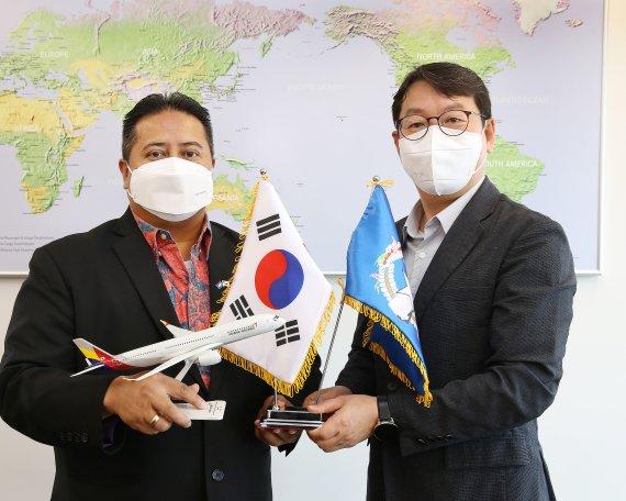 아시아나항공, 사이판 운항 재개..북마리아나 정부와 협력