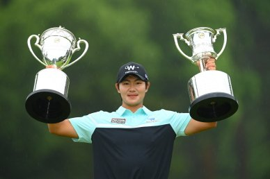 김성현, 일본PGA챔피언십 우승..한일프로 챔피언십 석권