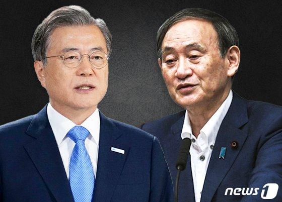 '15분이냐 1시간이냐' 文-스가 정상회담 개최 신경전 지속 [도쿄리포트]