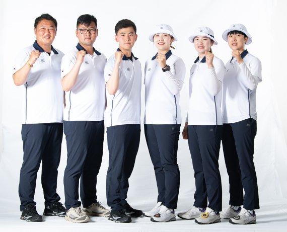 코오롱스포츠·왁, 도쿄올림픽 양궁·골프 국가대표 유니폼 지원