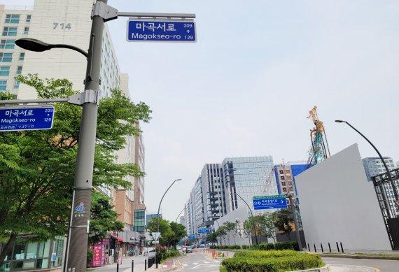 르웨스트·CJ부지 개발 본격화… 마곡 아파트 1억~2억 껑충[현장르포]