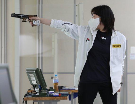 [도쿄올림픽]김민정 韓 여자사격 올림픽 입상 9년 만..역사상 2번째