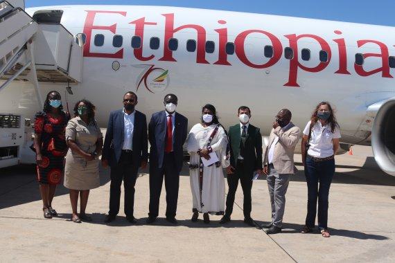 에티오피아항공, 백신 총 5천만회분 28개국에 수송