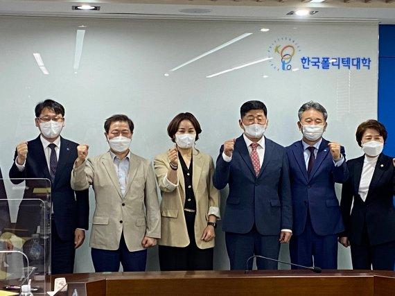박승원 광명시장, 임오경 의원 폴리텍 광명융합기술교육원 방문 지원방안 논의