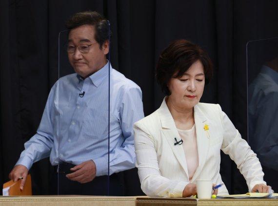 """추미애, 손준성 책임론에 """"이낙연 TV 토론팀장은 윤석열인가"""""""