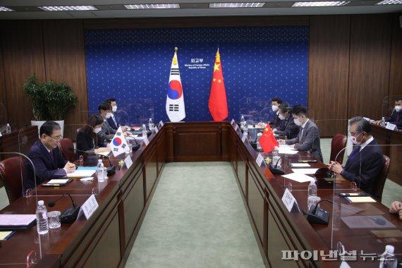 한중 외교장관 회담
