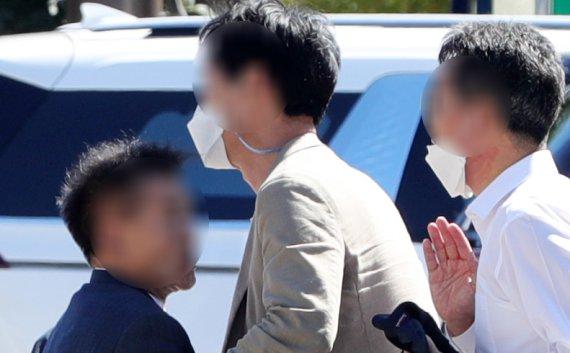 [뉴시스Pic] 이재명 전북 경선본부 관계자 뺨 때린 이낙연 지지자
