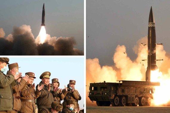 南 SLBM 시험발사 성공한 날 또 탄도미사일 도발한 北