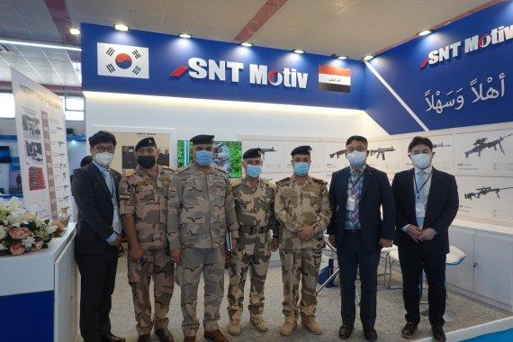 SNT모티브, 이라크서 열린 '국제 대테러·특수작전 전시회' 참가
