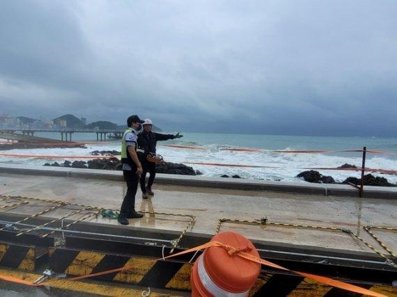 부산 16일 '찬투' 영향권…해경, 연안 안전사고 주의보 발령