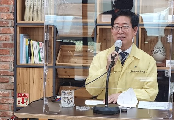 """양승조 충남지사, 삽교역사 신설 관련 """"도 역점사업 변함 없어"""""""