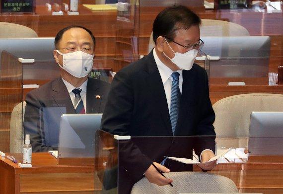 """김부겸 """"경제 폭망 아냐…폭망한 경제서 집값 오르겠나"""""""