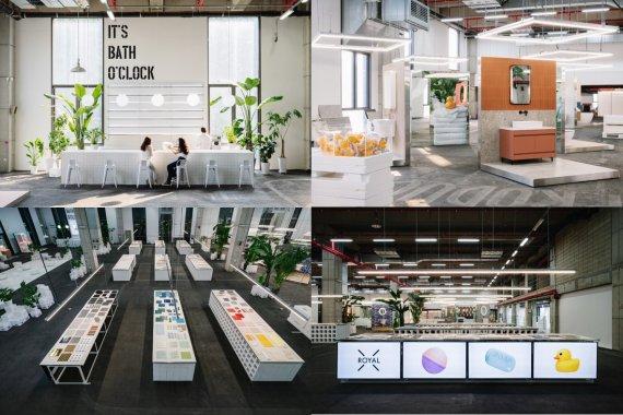 국내 최대 '욕실 쇼룸' 개장…브랜드 100개·타일 1천종