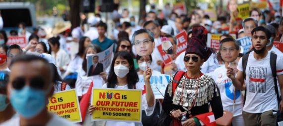 """미얀마 임시정부 """"더 이상 국제사회에 의존할 수 없어"""""""