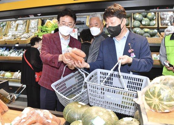"""경북도 """"대구·경북 1호 상생장터 연매출 57억원 목표"""""""