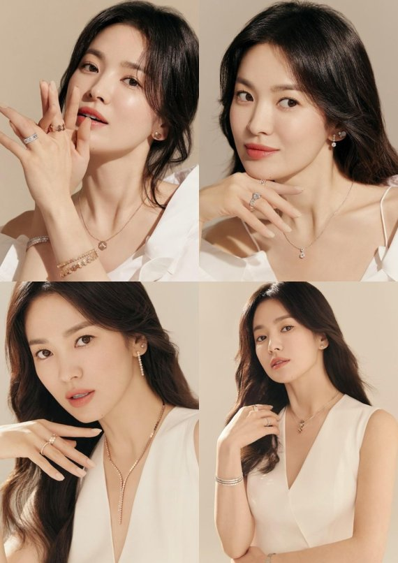 송혜교, 여신 미모 그 자체…빛나는 얼굴+우아 분위기 [N샷]