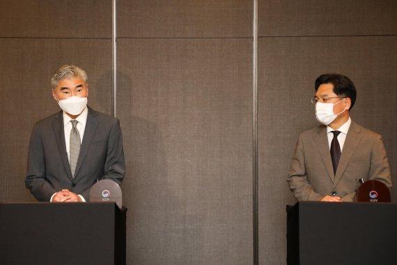 한미 북핵수석대표 통화…北 탄도미사일 발사 대응 논의