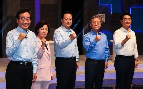 '호남 선거인단이 승부처' 달려가는 與 주자들…오늘 광주서 TV토론